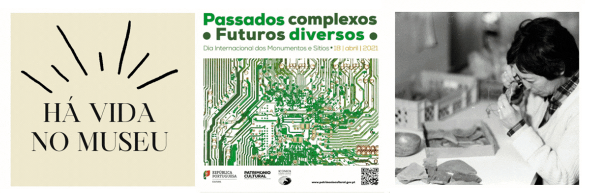 Detalhe do Cartaz da iniciativa Há Vida no Museu!