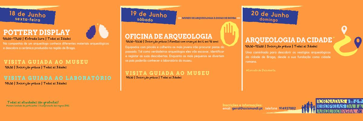 Jornadas Europeias da Arqueologia trazem muitas atividades ao Museu D. Diogo de Sousa